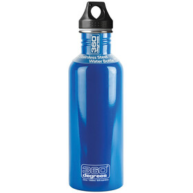 360° degrees Stainless Drinkfles 1000ml blauw